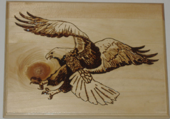Pyrography Cafe is open