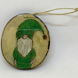 Green Gnome Ornament Christmas