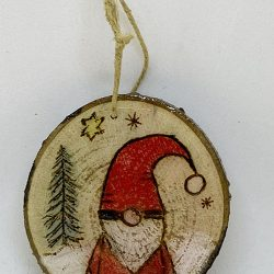 Red Gnome Ornament Christmas
