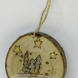 Tree Trio Christmas Ornament