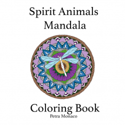Spirit Animal Mandala Coloring