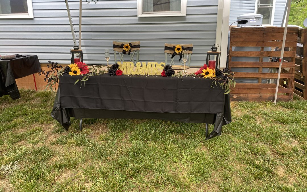 Wedding plans and activities
